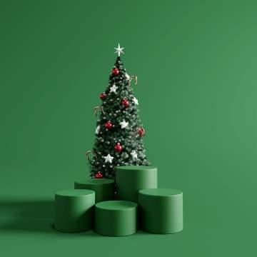 Animation d'arbre de Noël dans le secteur du Tarn
